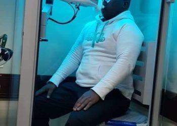 Lukwago receiving treatment at Agakhan Hospital