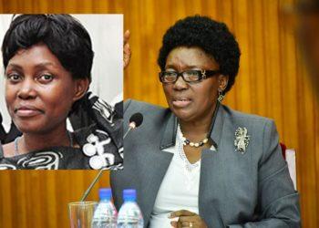 Maureen Kyalya and Speaker Kadaga