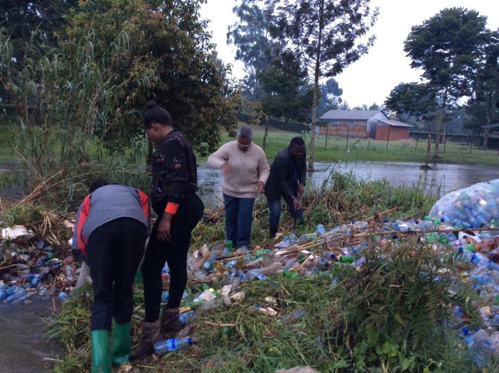 Community Work ongoing at River Mpanga