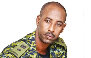 Lt. Con James Nuwagaba abadde akulira ebikwekweto bye nvuba embi ku nnyanja