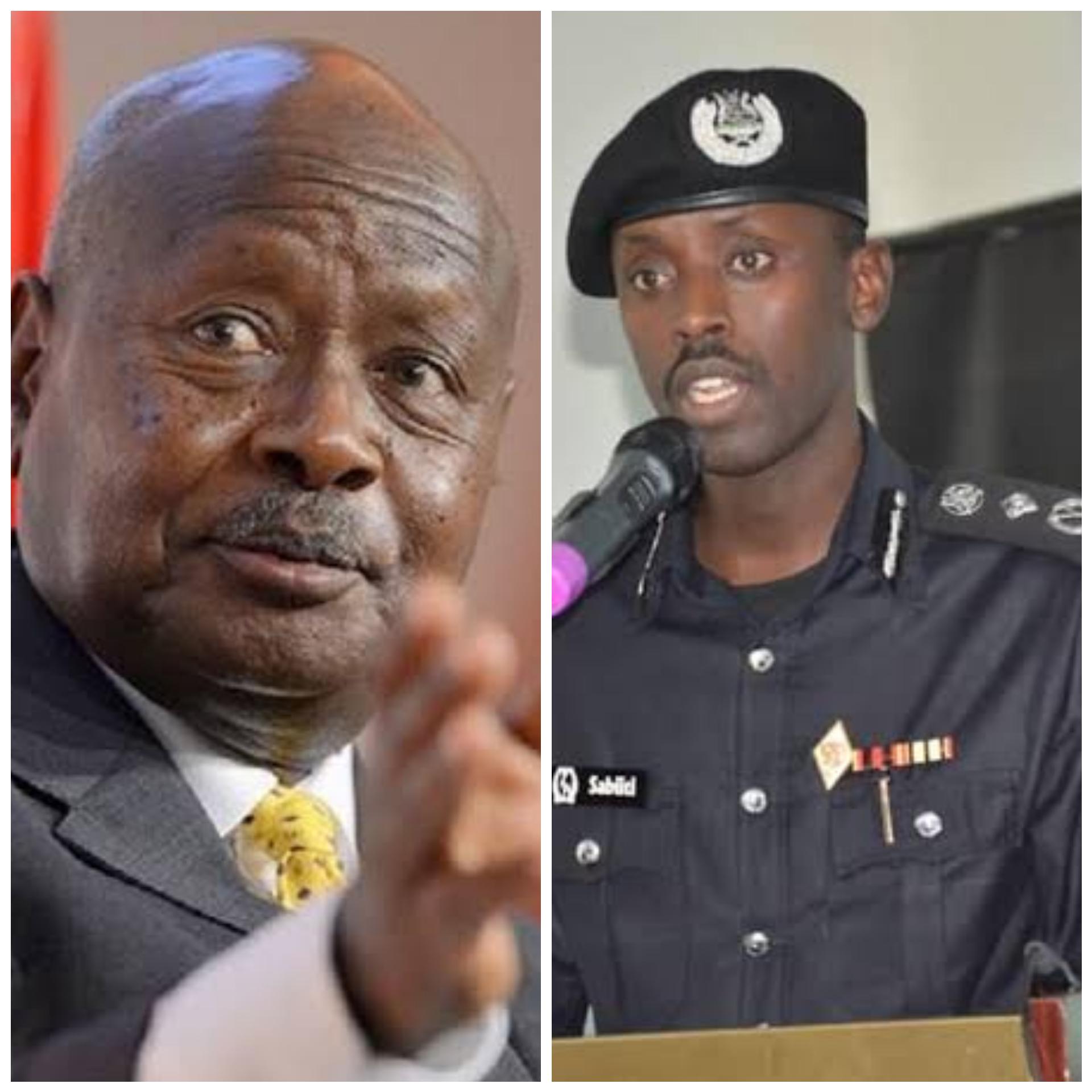 President Museveni and Gen Muzeyi Sabiiti