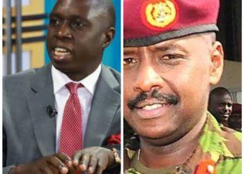 MP Nsereko and Gen Muhoozi Kainerugaba