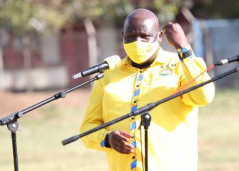 NRM director for Communications Emmanuel Dombo