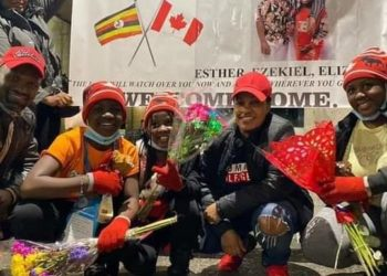 Julie Mutesasira reunites with her 3 children in Canada