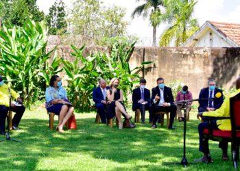 Museveni, US, UK envoys discuss South Sudan