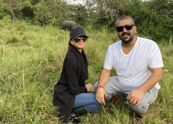Rajiv Ruparelia and wife Naiya