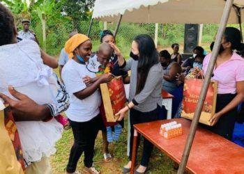 Ruparelia Foundation donating Christmas goodies to needy children