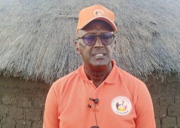 Gen. Henry Tumukunde nga ali mu bitundu bye Lango