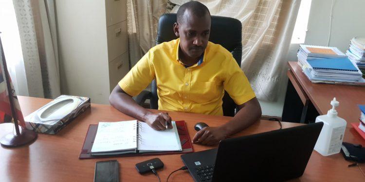 Frank K Tumwebaze  represented H.E  @KagutaMuseveni  at the 9th board virtual meeting of  @SmartAfrica  chaired by H.E  @PaulKagame