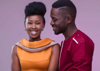 Bobi Wine and his wife Barbie