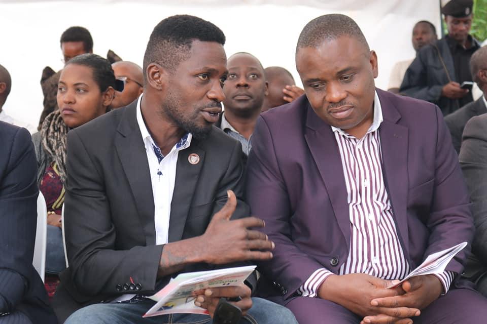 Bobi Wine and Erias Lukwago