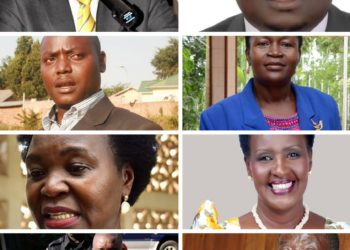 Some of the ministers who lost  their parliamentary seats