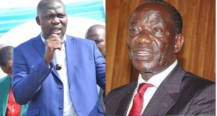 Richard Ssebamala and VP Edward Ssekandi