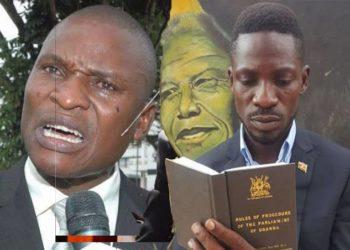Tamale Mirundi and Bobi Wine
