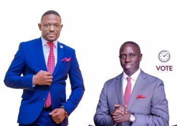 Fred Nyanzi and Muhammad Nsereko