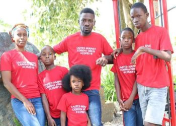 Bobi Wine and his family
