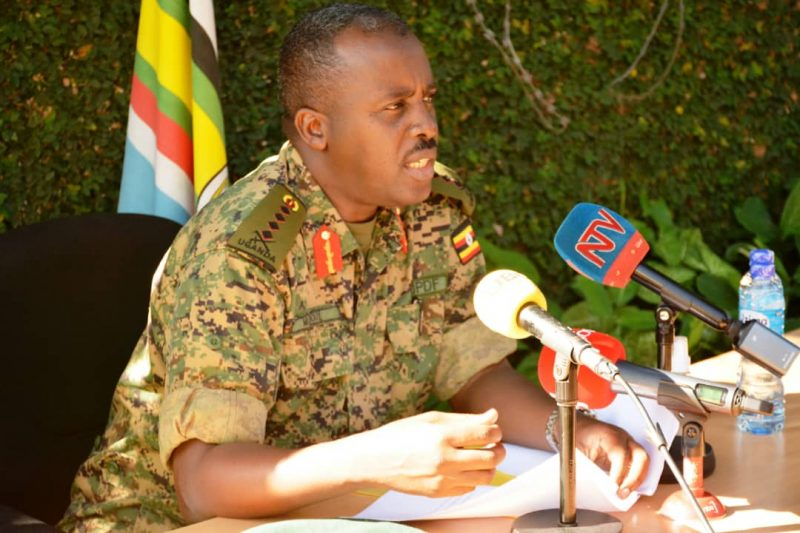 Gen. David Muhoozi Omuduumizi wa maggye ge Ggwanga