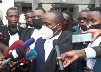 NUP lawyer Medard Lubega Ssegona