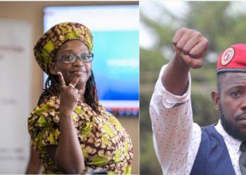 Dr Stella Nyanzi and boyfriend David Musiri