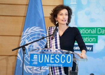 Audrey Azoulay, the Director-General of UNESCO