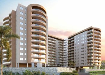 Artistic impression of One-10 Apartments