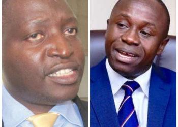 Ministers David Bahati and Peter Ogwang