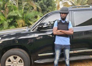 Bobi Wine with his brand new ride