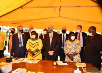 EU delegates meeting with NRM officials on Wednesday