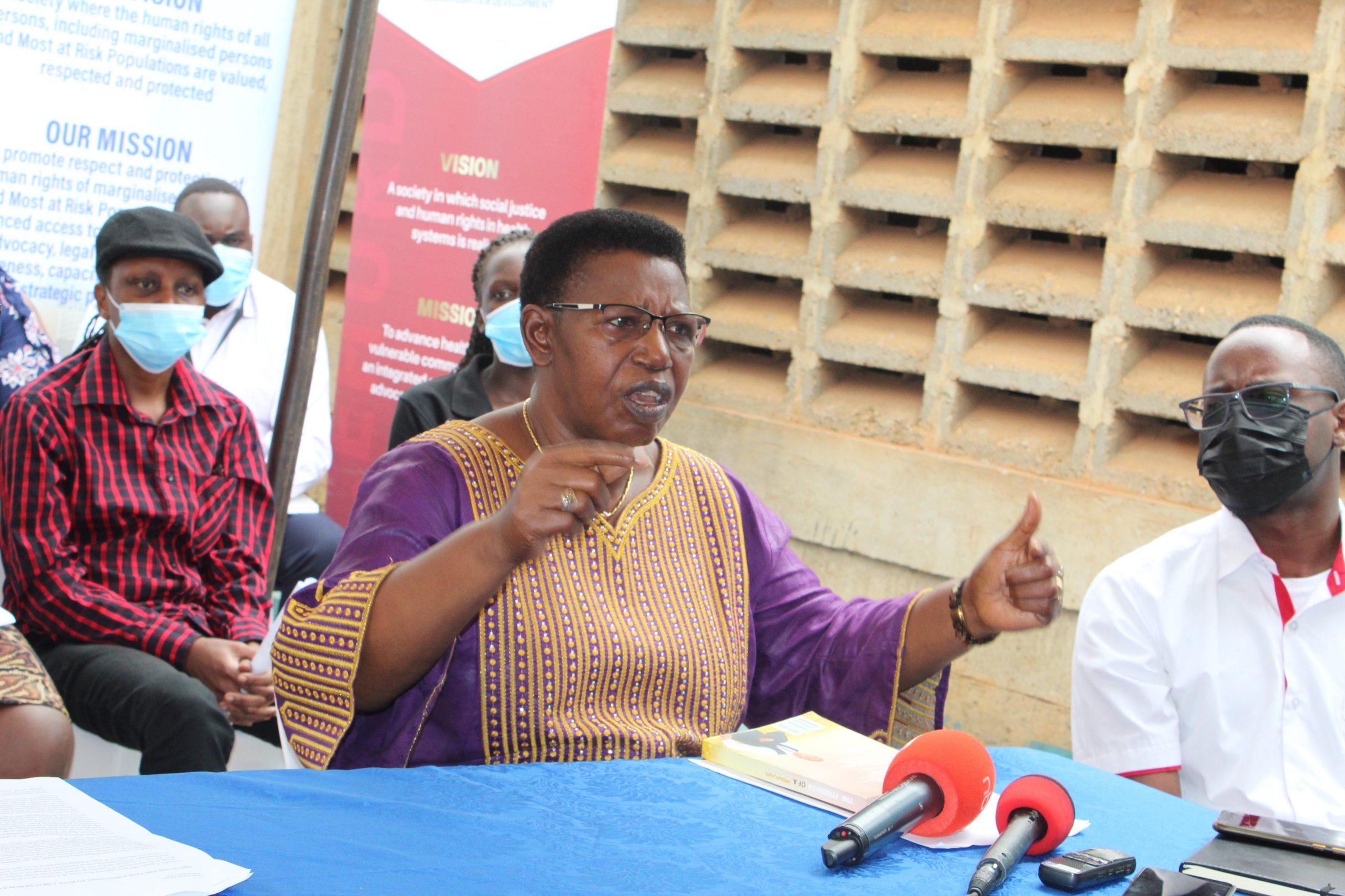 Dr Miria Matembe, CCEDU Chairperson