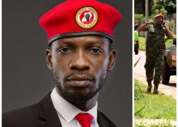 Bobi Wine and Lt Col Namanya