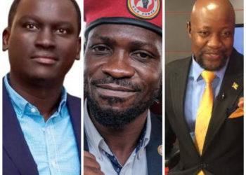 Kin Kariisa, Bobi Wine and Samson Kasumba