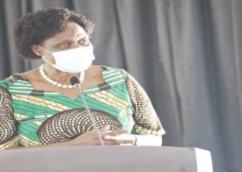 Minister Beatrice Anywar