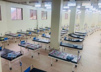 Namboole Stadium Covid-19 Quarantine Center