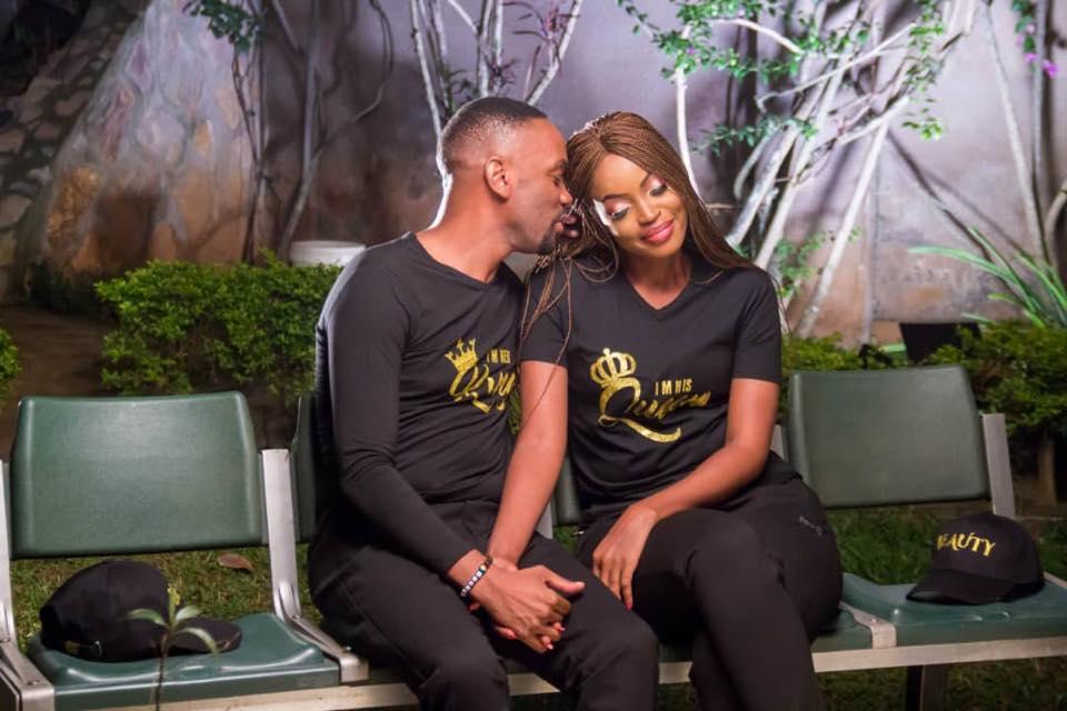 Herbert Shonga and Sasha Brighton