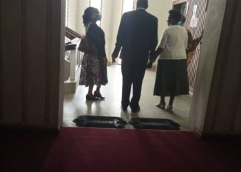 EOC Boss Ms Sylvia Ntambi at Parliament