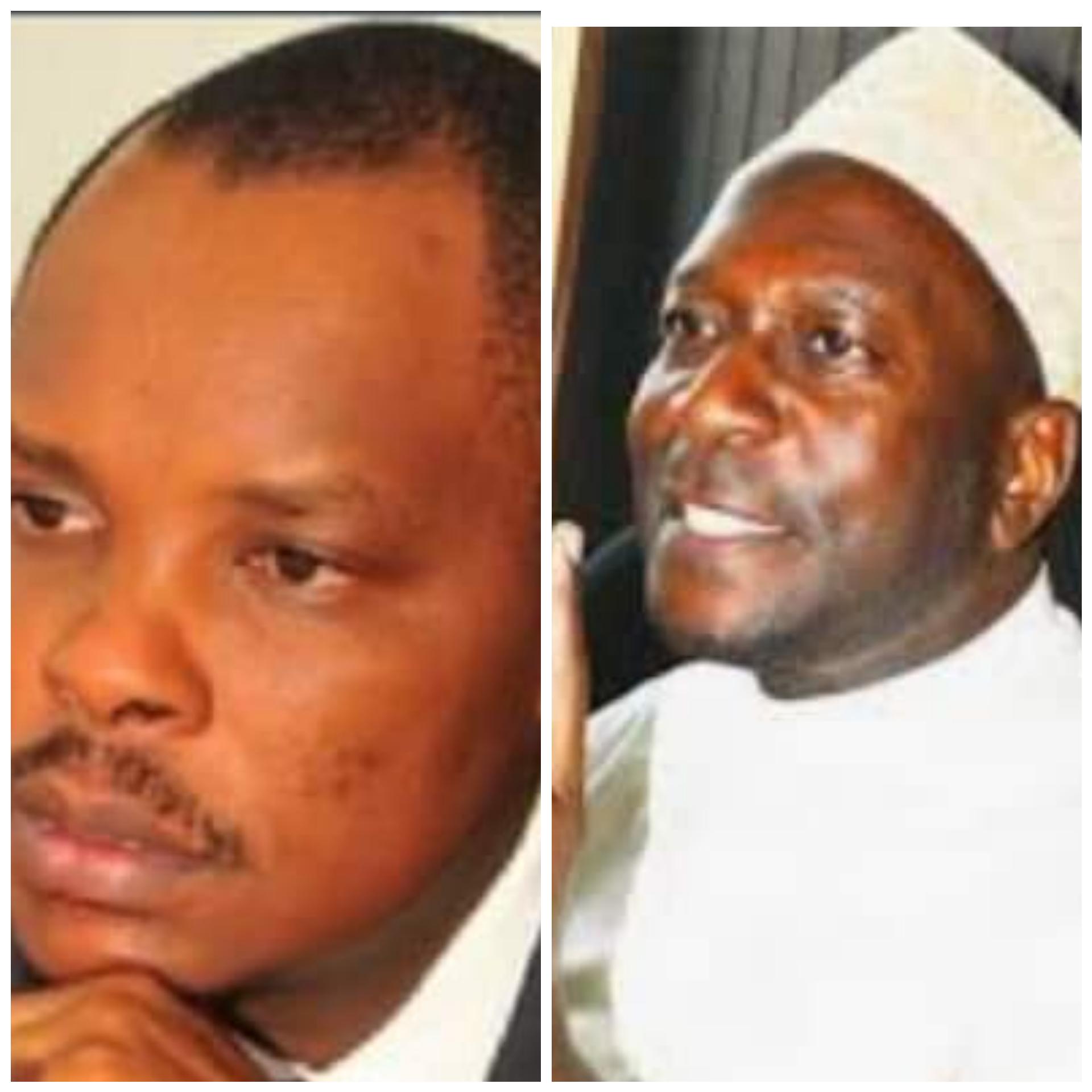 The late Bob Kasango and Sheikh Muzaata