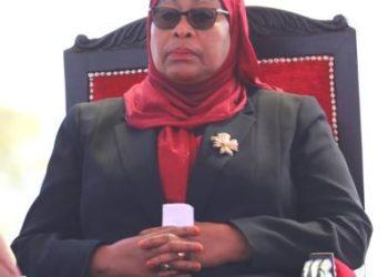 Tanzania President Samia Suluhu Hassan