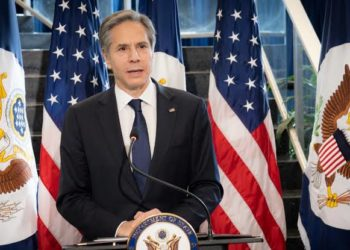 Antony J. Blinken, the US Secretary of State