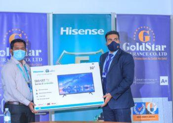 Goldstar Insurance announces partnership with Hisense Uganda