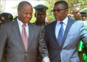 Kabaka Mutebi with Katikkiro Mayiga
