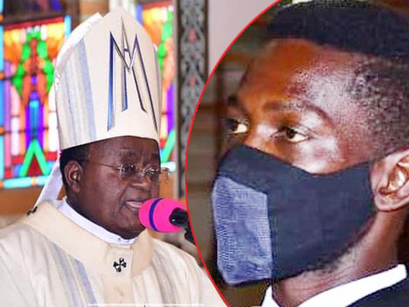 The late Dr Kizito Lwanga and Bobi Wine