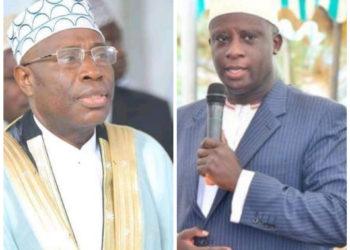 Sheikh Kasule Ndirangwa and Prince Kassim Nakibinge