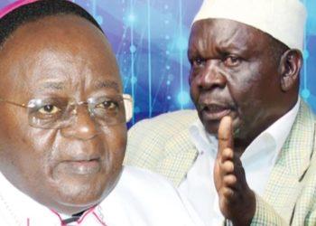 Dr Kizito Lwanga and Hajj Nsereko Mutumba