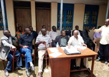 Bugisu clan leaders in meeting on 5th April, 2021
