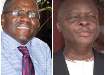 Katikkiro Mayiga and Kabaka Ronald Muwenda Mutebi