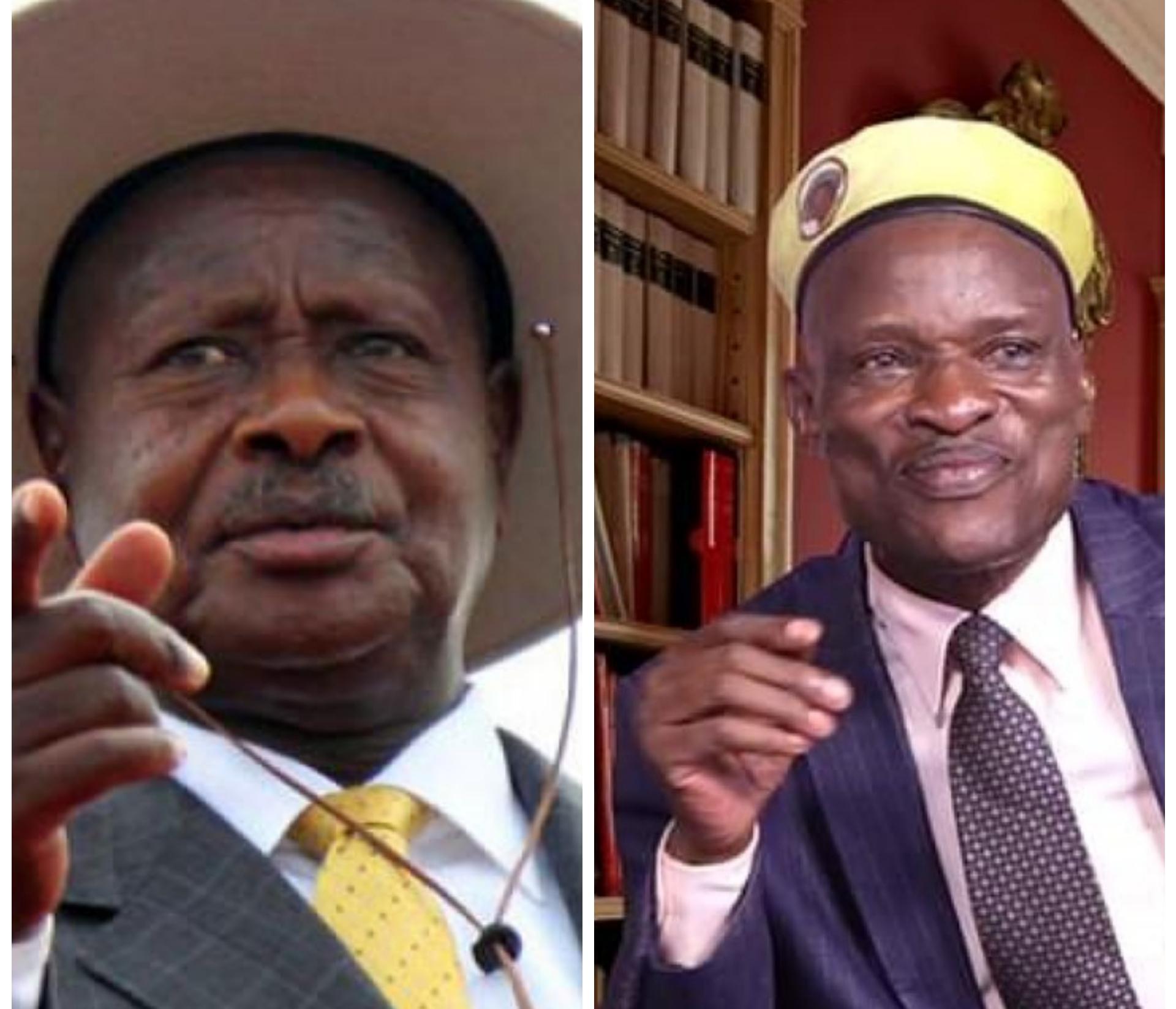 President Yoweri Museveni and Tamale Mirundi