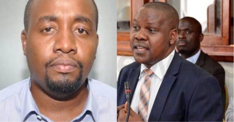 John Turyagyenda and Godfrey Werikhe