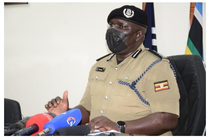 Police Spokesperson Fred Enanga