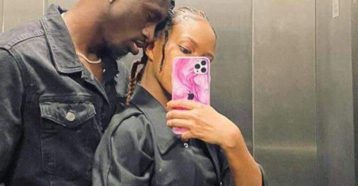 Socialite Sheila Gashumba with her boyfriend Rickman