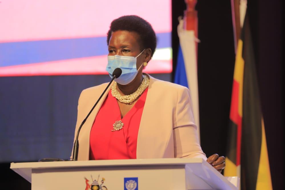 Minister Amelia Kyambadde